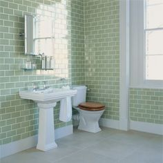 Green Park Dado - Wall & Floor Tiles | Fired Earth