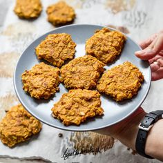 zdrowe ciasteczka owsiano dyniowe fit bez cukru