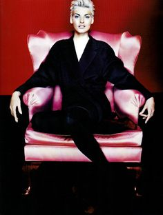 Jil Sander - A/W 1991  Ph Nick Knight Model: Linda Evangelista