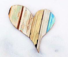Asymmetrical Heart Valentines Heart Boho Wall Art Gypsy