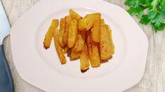 Kohlrabi-Pommes: Der gebackene Kohlrabi ist sehr lecker und lässt sich prima mit selbstgemachten Dips wegsnacken - probieren Sie es aus!