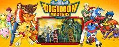 Entre no mundo Digimon com Digimon Masters