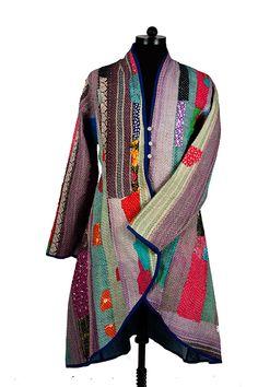 Bangali Patch Work Jacket