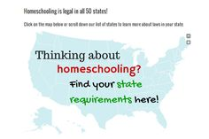 Find #homeschool requirements now! via hedua.com