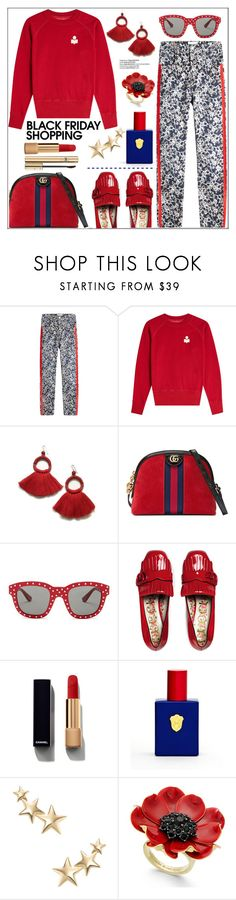 """""""Steal Those Deals: Black Friday"""" by pat912 ❤ liked on Polyvore featuring Étoile Isabel Marant, Gucci, Yves Saint Laurent, Kenneth Jay Lane, Kate Spade, Dolce&Gabbana, polyvoreeditorial and blackfriday"""