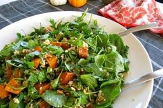 Meatless Monday: Roasted pumpkin, pine nut, and feta salad - CSMonitor.com