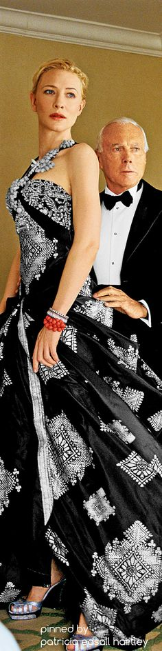 Armani and Cate Blanchett