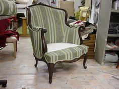 Wingback Chair, Armchair, Work Chair, Sofas, Accent Chairs, Upholstery, Furniture, Home Decor, Lounge Chairs