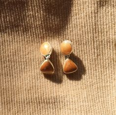 Your place to buy and sell all things handmade Etsy Earrings, Dangle Earrings, Nature Color Palette, Dangles, Gold, Vintage, Jewelry, Jewlery, Bijoux