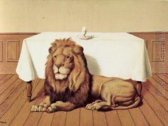 The Wedding Breakfast by Rene Magritte Rene Magritte  ( 1898 - 1967 ) More At FOSTERGINGER @ Pinterest