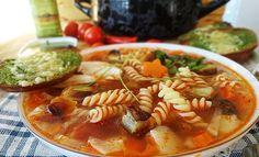 Итальянский суп - минестроне. рецепт с фотографиями