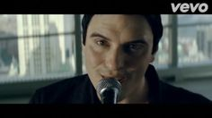 Screenshot from Breaking Benjamin's music video of I Will Not Bow Ben Burnley.
