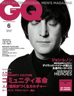 GQ JAPAN6月号は、ジョン・レノンの表紙が目印! メンズファッション、時計、高級車、男のための最新情報 GQ JAPAN