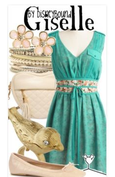 Giselle from Enchanted inspired outfit by DisneyBound