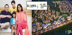 #GaurYamunaCity developed by Gaursons at Yamuna Expressway Noida in 300 acres with 2/3 BHK apartments. Read more - http://www.apartmentsnoida.com/gaur-yamuna-city/