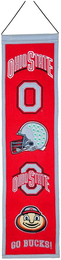 Ohio State Buckeyes NCAA Heritage Banner