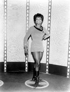 "20th-century-man: ""Nichelle Nichols / publicity photo for Star Trek (NBC 1966-69) """
