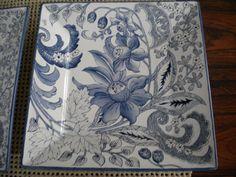 Prato azul Renata