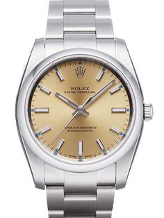 Rolex Oyster Perpetual 34 114200 Champagner