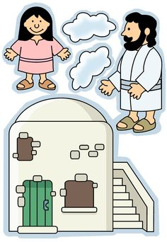Bible Figures Free in Color