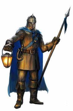 Risultati immagini per medieval guard uniform Fantasy Armor, Medieval Fantasy, Dark Fantasy, Fantasy Portraits, Character Portraits, Character Art, Dnd Characters, Fantasy Characters, Fantasy Creatures
