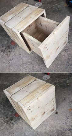 simple Pallet drawers box