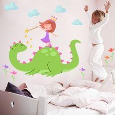 El drac màgic i el cavaller - Vinil infantil