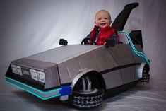 Best Baby Halloween Costume Goes to... This Kid's DeLorean PushCart - News - GeekTyrant