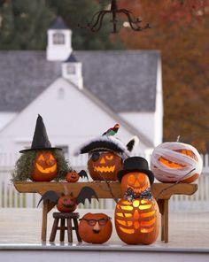 Unique Pumpkin decorating ideas! Www.dandelionmoms.com