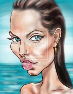 Angelina by the Sea by ~adavis57 on deviantART