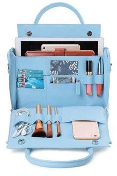 Shoulder Handbags, Shoulder Bag, Luxury Cosmetics, Handbag Organization, Types Of Bag, Large Bags, Cross Body Handbags, Cosmetic Bag, Leather Bag