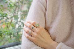 Deco rings by Oona Collection Class Ring, Diamond, Rings, Wildflowers, Jewelry, Deco, Collection, Fashion, Diy Jewelry Making