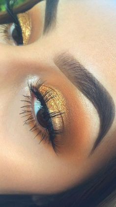 #Gold #Eyes #TrendAlert #Trendy #Dorado #Ojos #GoldenEyes #Golden