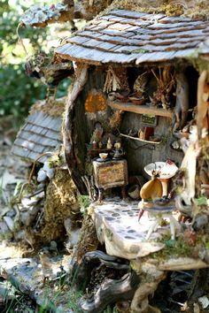 Fairy house so sweet!