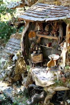 Fairy house so sweet!