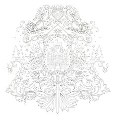 Enchanted Forest Coloring Book- I saw this at Barnes and noble and fell in love! I really want it for Christmas!