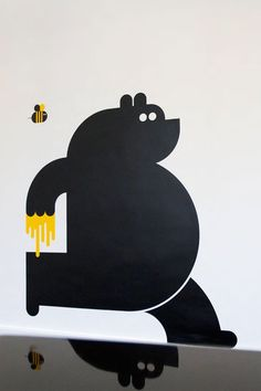 Bears and Bees, Illustration, Branding. Brand Identity Design, Logo Design, Graphic Design, Identity Branding, Corporate Design, Corporate Identity, Brochure Design, Visual Identity, Character Illustration