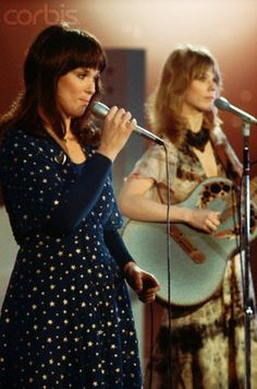"Ann & Nancy Wilson ....""heartless.....in the name of rock & roll""   these sisters can ROCK! Heart Band  c.1975    <3"