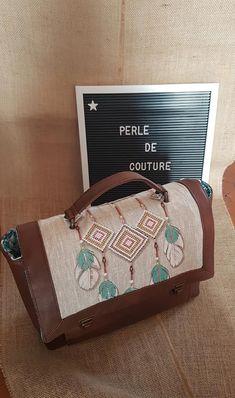 Sac Quadrille Attrape-rêves cousu par Perle de Couture - Patron Sacôtin