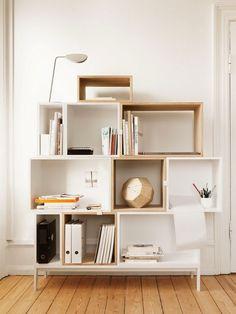 Un muebles que hasta podría ser armado por tí mismo. ¡Anímate y dale personalidad a tu departamento!