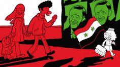 Comic books of childhood under Arab dictators grip France - France 24