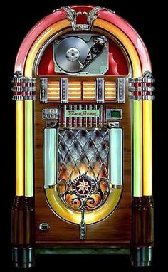 Wurlitzer Jukebox will be in my livingroom someday. I have already saved hundreds of 45 records.