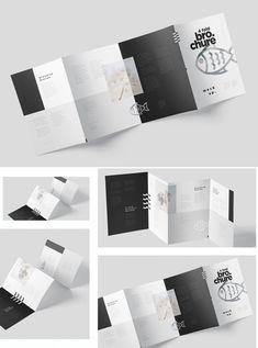 Brochure Folds, Brochure Ideas, Brochure Design, Branding Ideas, Keynote Template, Brochure Template, Flyer Template, Leaflet Design, Ad Design