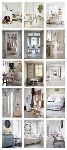 Swedish Decorating Painted Floors, Keywords, Wood Flooring DIY, Inexpensive Wood Flooring, Plank Wood Flooring, Plywood Wood Flooring, Swedish Decorating, Period Style Flooring,