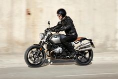 BMW answers the competition with its own R nineT Scrambler.