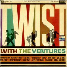 Twist With The Ventures LP