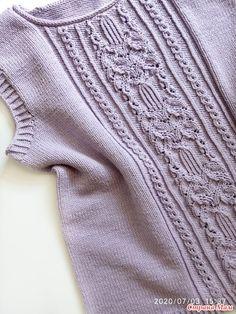 Summer Knitting, Lace Knitting, Knitting Needles, Knit Crochet, Knit Patterns, Stitch Patterns, Summer Tops, Knitwear, Sweaters