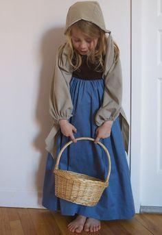 Le costume de boulangère// Contes de fées intemporels// Astrid LeProvost// Rapunzel//Le petit chaperon rouge
