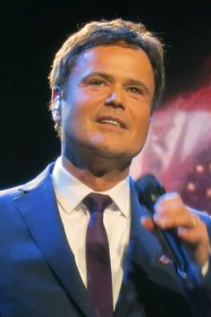 Donny Osmond...He got me through a horrible time in my life. Fine beautiful man, one talented singer Mrs Susan Ansley??? here in New Zealand