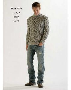 Modèle Pull CB11-24- Patron tricot gratuit